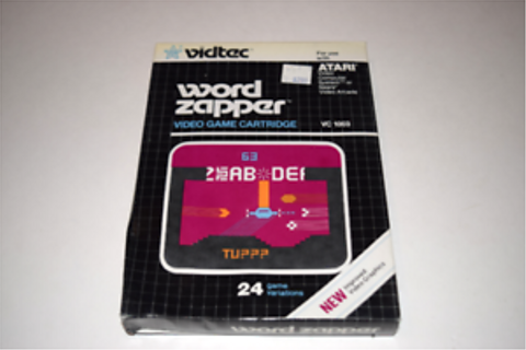 Word Zapper Atari 2600 Video Game New in Box | eBay
