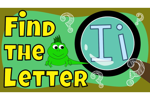Find the letter I - Learning Alphabet Shapes - The Singing ...