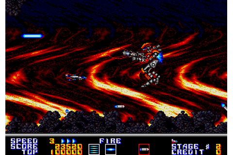 Thunder Force AC (1990) Arcade game