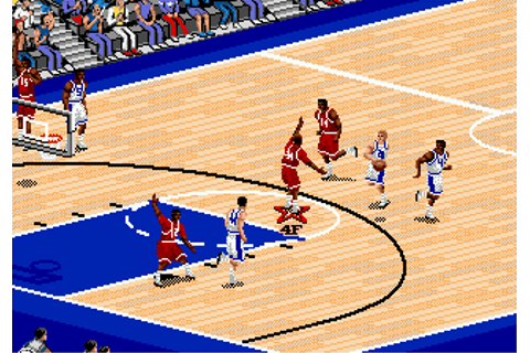 Play Coach K College Basketball Sega Genesis online | Play ...