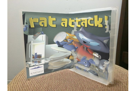 Rat Attack! N64 video game case | Game Case King - Custom ...