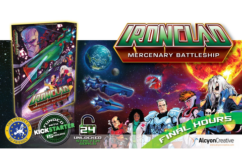 Ironclad: Story driven space opera cooperative board game ...