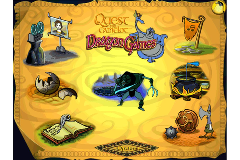 Quest for Camelot Dragon Games - Old Games Download