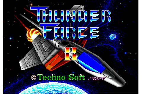 Play Thunder Force II Sega Genesis online | Play retro ...