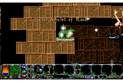 Inner Worlds (1996) by Sleepless Software MS-DOS game