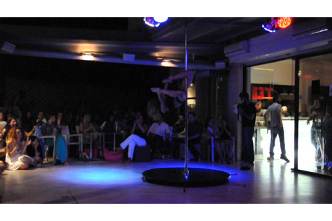 Pole Dancing By NeNa Dance Stage - YouTube