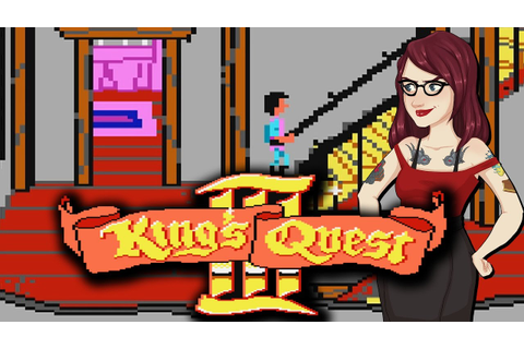 The First Game I Ever Played! - King's Quest III - YouTube