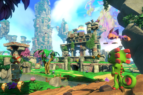 Yooka-Laylee channels the best of gaming's 3D platforming ...