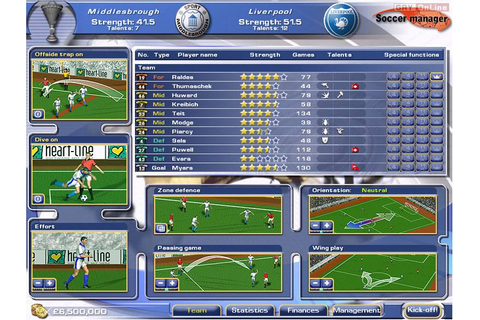 Soccer Manager (2002) - screenshots gallery - screenshot 3 ...