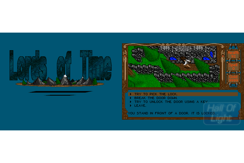 Lords Of Time : Hall Of Light – The database of Amiga games