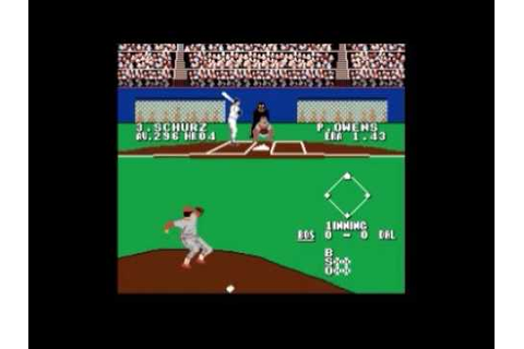 Bases Loaded 3 (Every NES Game) - YouTube