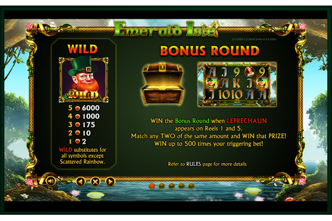 Emerald Isle Online Slot Game Review | NewCasinoSites.org