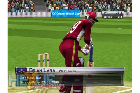 BRIAN LARA INTERNATIONAL CRICKET 2005 - Free Games For You