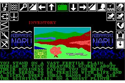 Kobyashi Naru Download (1987 Adventure Game)