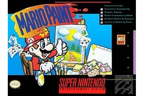 Mario Paint (Super Nintendo) - YouTube