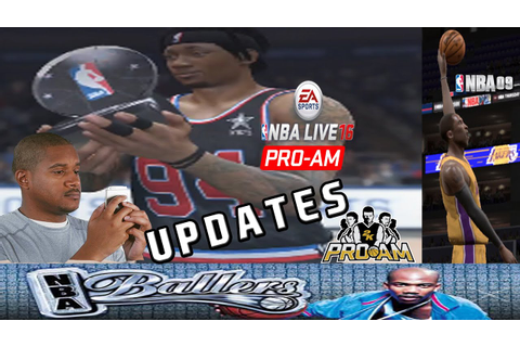 NBA LIVE 15 - ALLSTAR GAME/UPDATES ON 2ND CHANNEL/GAMEFACE ...