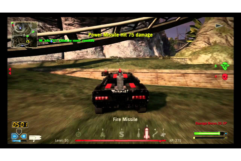 Twisted Metal TDM Roadkill Game - YouTube