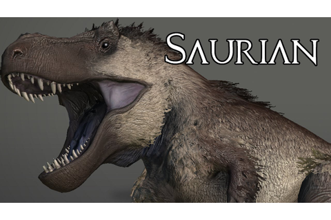 SAURIAN - A NEW DINOSAUR SURVIVAL GAME!! - YouTube