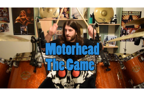 Motorhead - The Game Drum Cover - YouTube