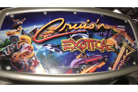 Cruis'n Exotica video arcade game V50 - YouTube