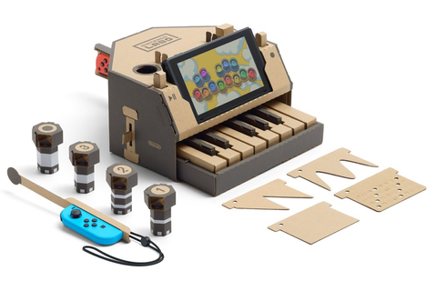 Nintendo's cardboard piano for Switch is the most exciting ...