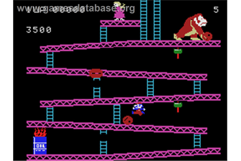 Donkey Kong - Coleco Vision - Games Database