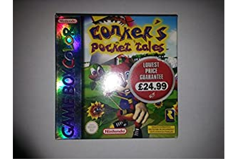 Amazon.com: Conker's Pocket Tales - GameBoy Color: Video Games