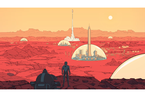 Surviving Mars Video Game 2018, HD Games, 4k Wallpapers ...