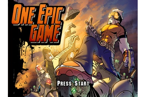 One Epic Game PSP ISO - Download Game PS1 PSP Roms Isos ...