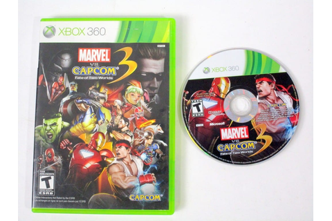 Marvel Vs. Capcom 3: Fate of Two Worlds game for Xbox 360 ...