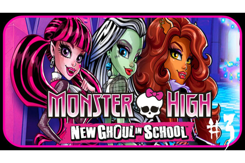 Monster High New Ghoul in School ♡ Meet the Cooking ...