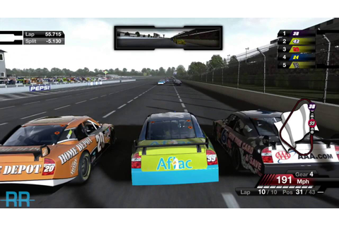 Playing NASCAR 09 Again!!! - YouTube