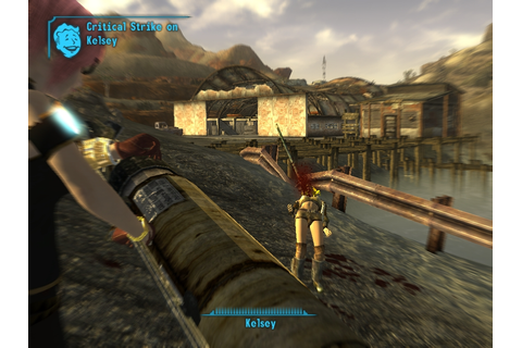 Whale Harpoon at Fallout New Vegas - mods and community
