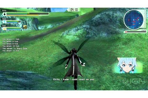 7 Minutes of Sword Art Online: Lost Song - YouTube