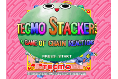 Play Tecmo Stackers Sony PlayStation online | Play retro ...