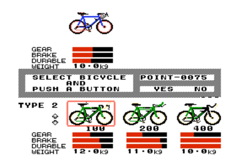 Test de Cycle Race : Road Man sur Nintendo Nes