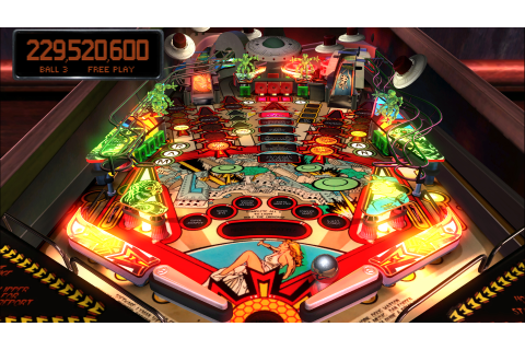 Hell yeah! Pinball Arcade is out on Steam! | GreatBitBlog