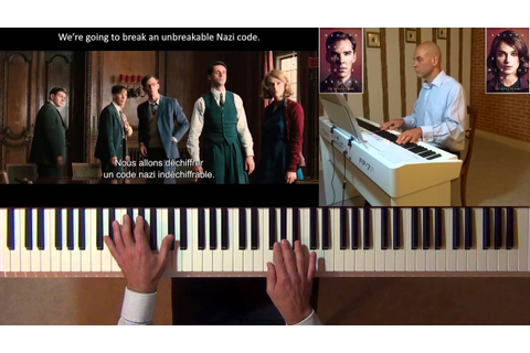 The Imitation Game (Alexandre DESPLAT) – piano cover - YouTube
