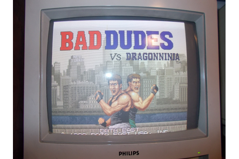 Bad Dudes Vs. DragonNinja repair log – JAMMArcade.net