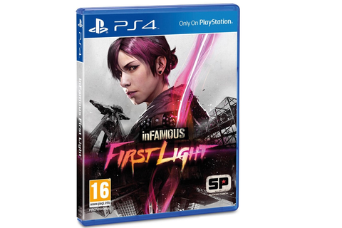 inFAMOUS: First Light - PS4 Game | Multirama.gr