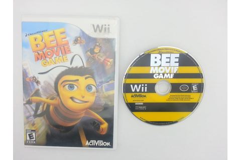 The Bee Movie Game game for Nintendo Wii -Game & Case ...