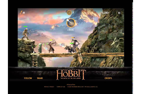 GAME: The Hobbit - Orc Attack. #Level 20 (20-20) - YouTube