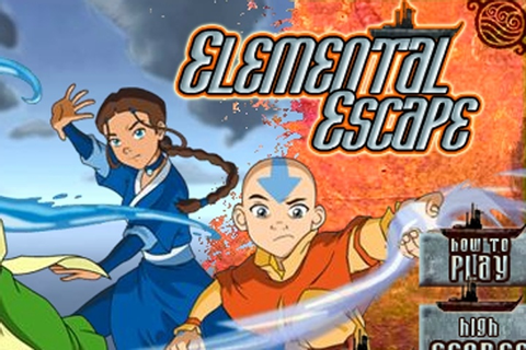 Avatar the last Airbender Elemental Escape Game - Avatar ...
