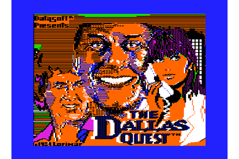 Play The Dallas Quest Online APPLEII Game Rom - Apple II ...