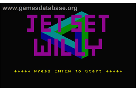 Jet Set Willy - Atari ST - Games Database