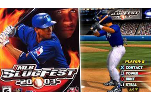 MLB SLUGFEST 2003 - THIS GAME IS AMAZING - YouTube