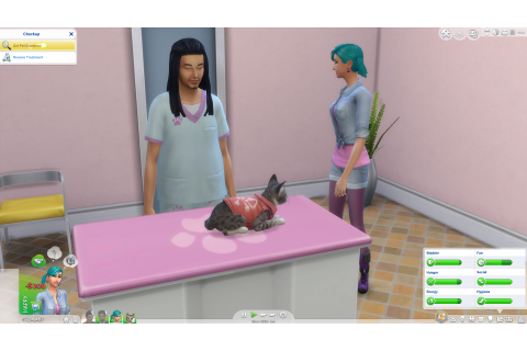 Les Sims 4 : Chiens et Chats - Game Side Story