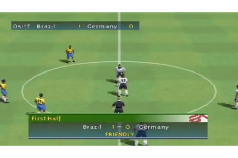 FIFA 2000 (PS1 Gameplay) - YouTube