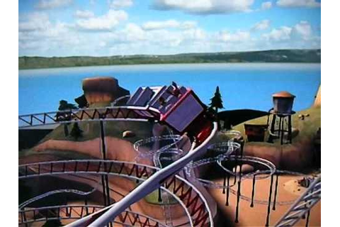 Thrillville : Parc en folie sur Wii [Coaster 4] - YouTube