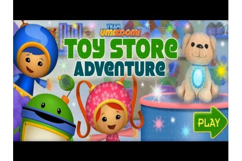 Team Umizoomi - Toy Store Adventure - YouTube